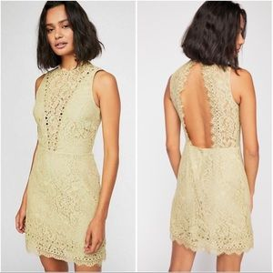 NWT Saylor x Free People Cherie Lace Dress